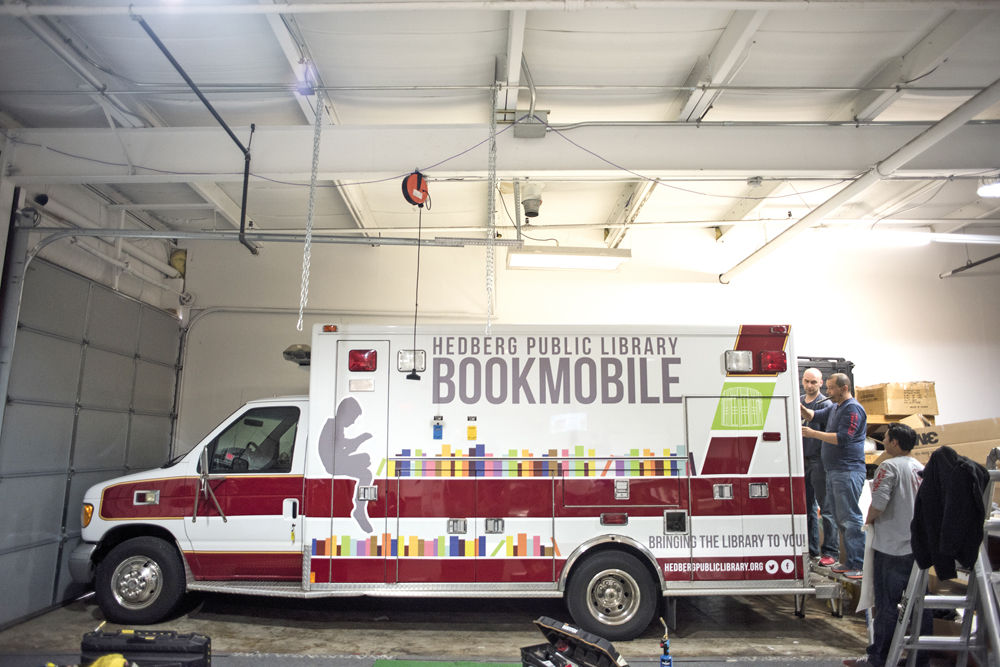 Hedberg Public Library to receive bookmobile