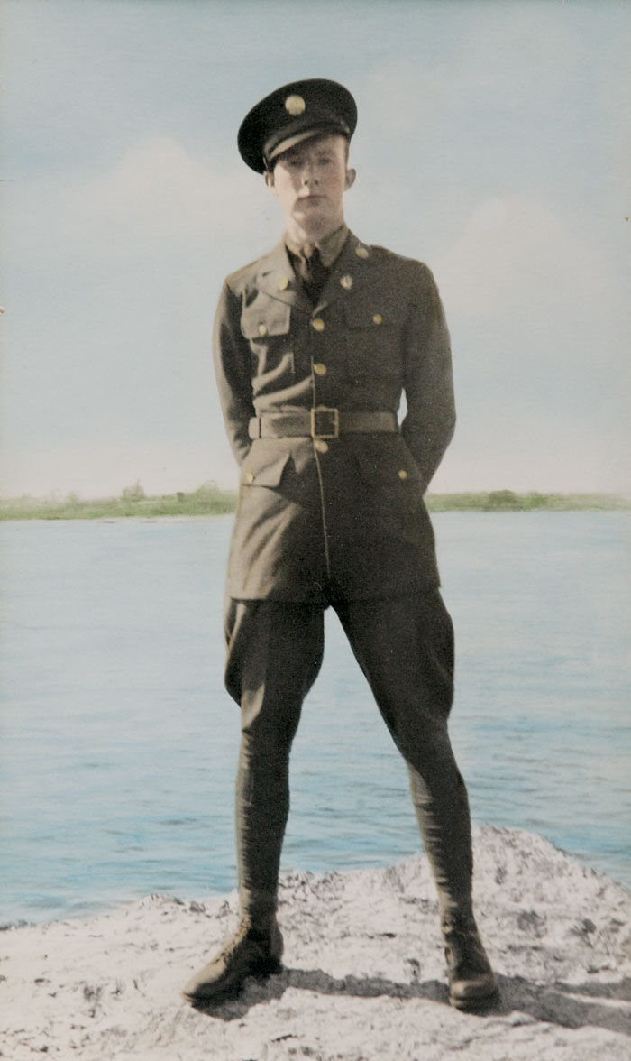Janesville man creates memorial for cousin who died in WWII