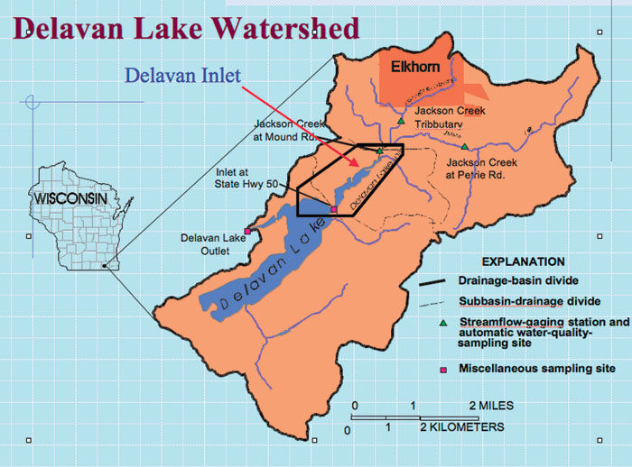 Delavan Lake could deteriorate without intervention, expert says