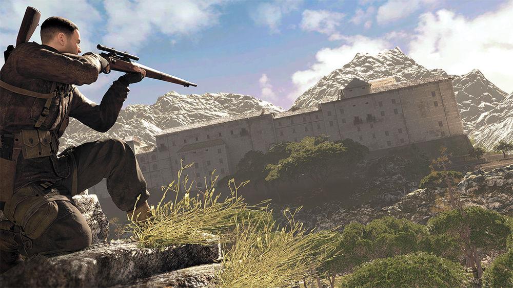 Press Start: 'Sniper Elite 4' is a fun, shallow shooter