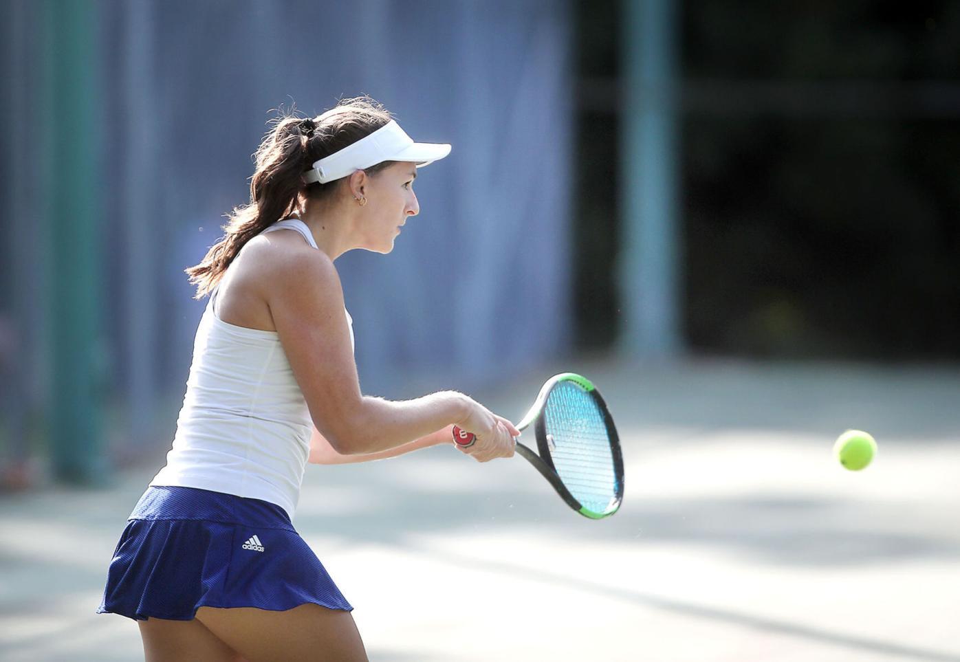 Janesville Craig No. 1 singles player Allison Grund