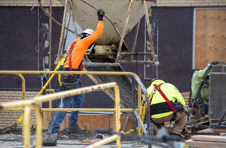 Officials: Courthouse construction on schedule