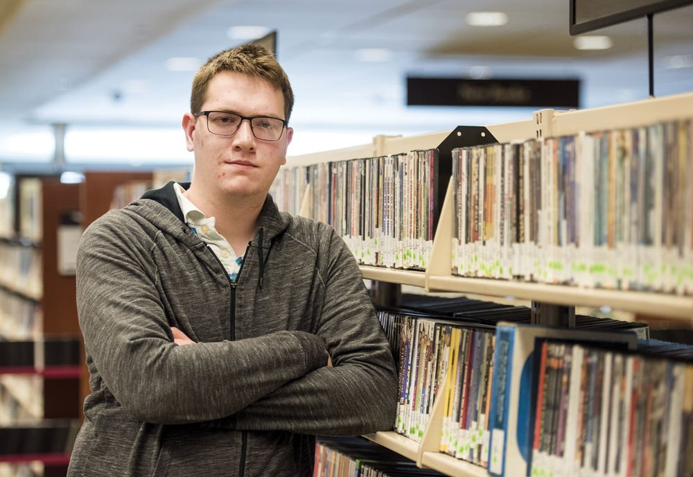 Janesville student's knowledge of films transforms his life