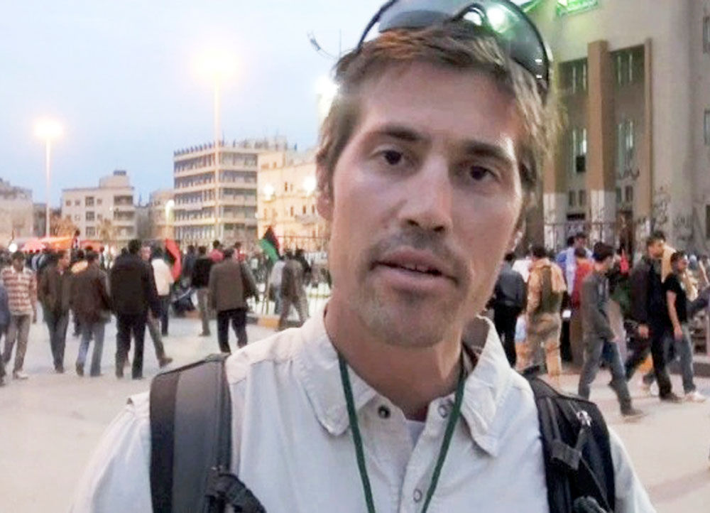 John W. Eyster: The shocking murder of war reporter James Foley
