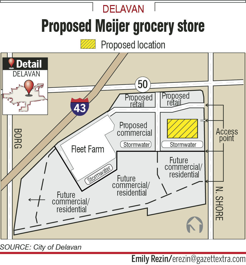 Delavan City Council approves Meijer\'s zoning proposal | Government ...
