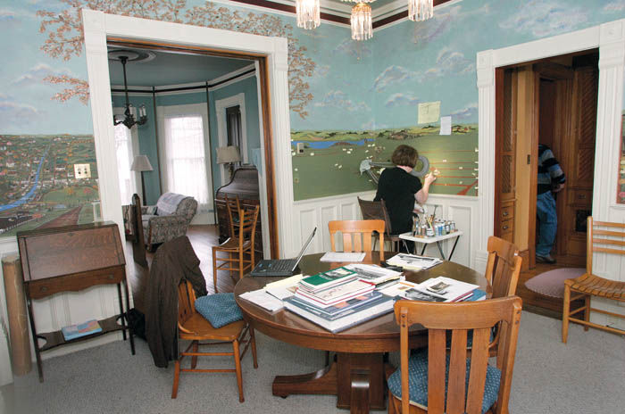 Mural Depicts Janesville Of Old
