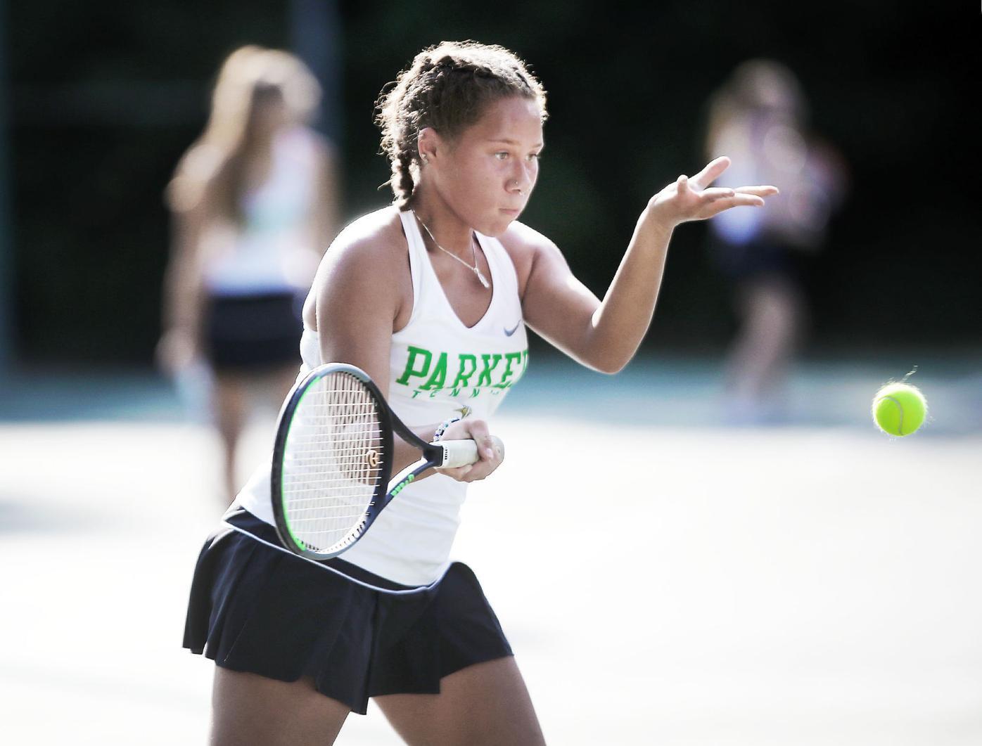 Janesville Parker No. 1 singles player Annie Barnes