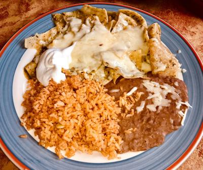 Jennifer Spangler A Member Of The Gazette S Restaurant Review Team Four Dishes Ordered This Dish Chilaquiles Verdes During Recent Breakfast