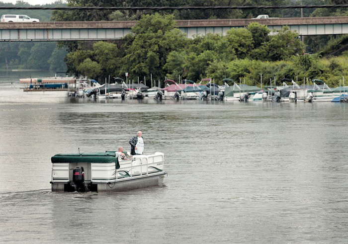 High water, heavy rains put damper on local boating scene