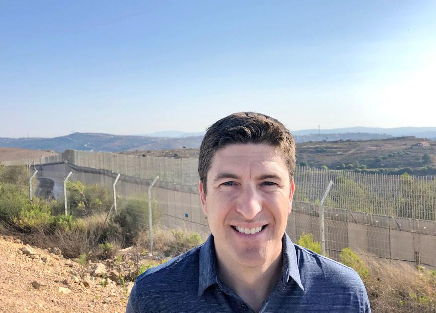 Local congressman visited Israel last week