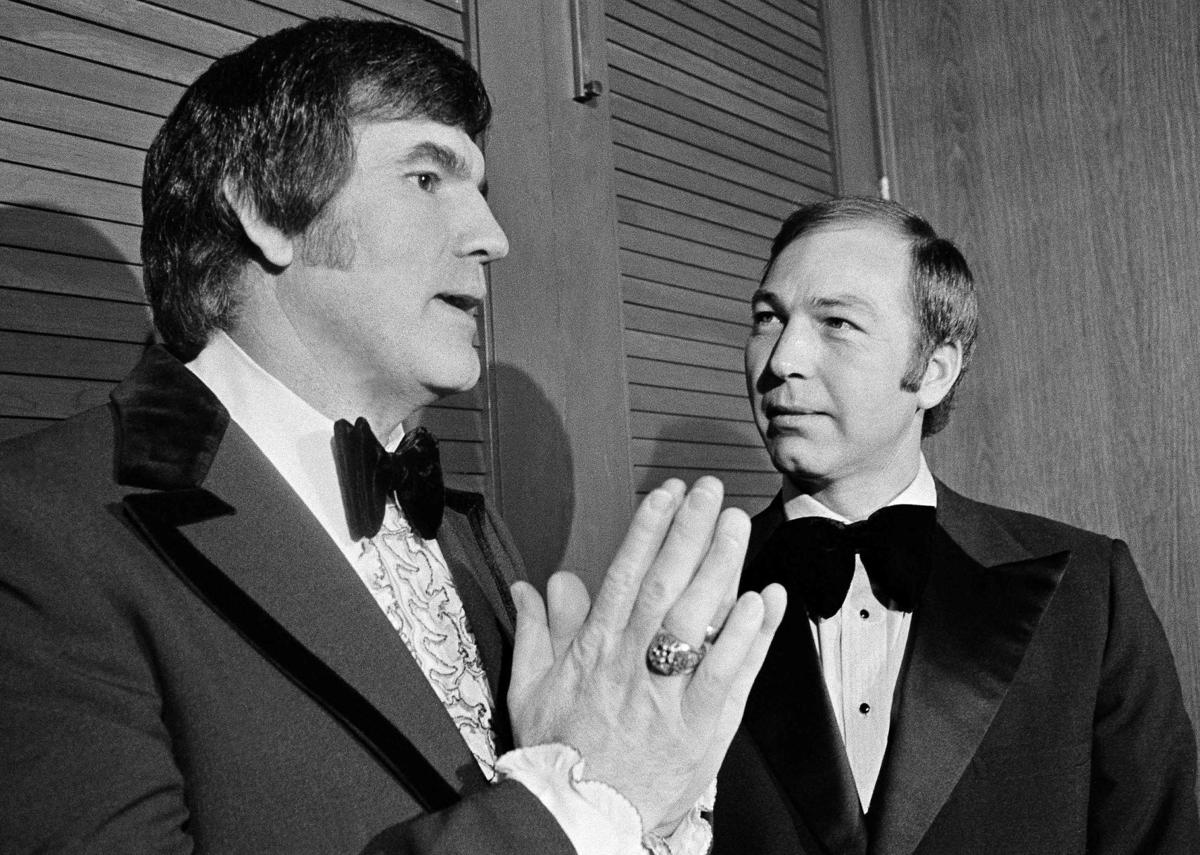 Forrest Gregg and Bart Starr