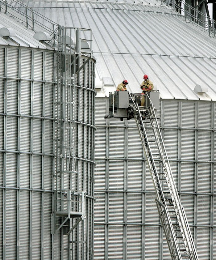 UPDATE: Search continues for man feared lost in grain bin at Milton ethanol facility