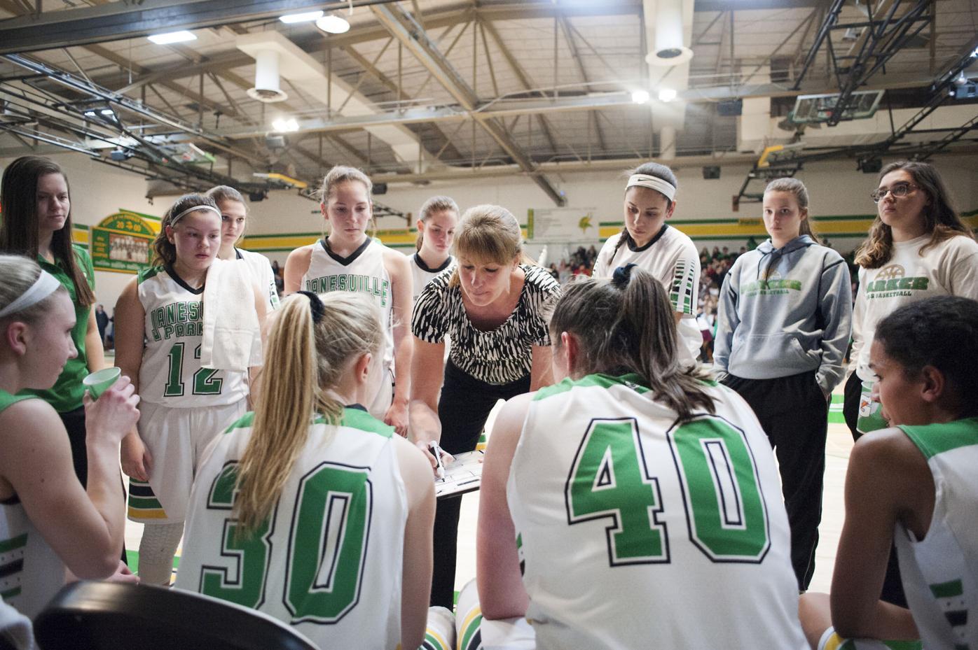 Parker girls basketball coach Jennah Hartwig