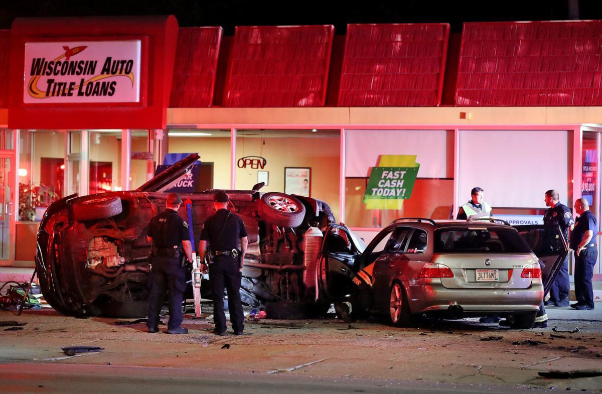 Crash with injuries ties up Milton Avenue traffic   No Meter