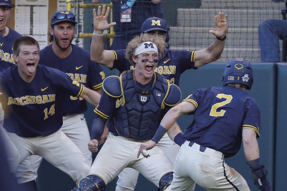 Schmoldt: Jack Blomgren's World Series run with Michigan has kept local TVs on late into the night