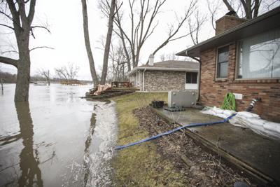 Winter Weather Flooding Illinois