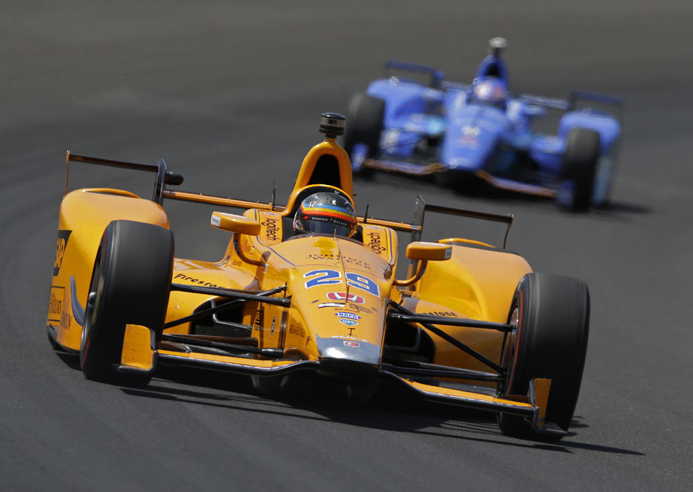 Fuel & Tires: It'll be Dixon's day at the Indianapolis 500