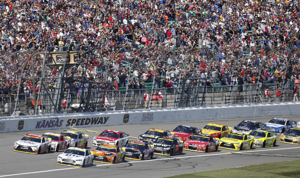 Fuel & Tires: NASCAR heads to Kansas; IndyCar's Boston Grand Prix cancelled