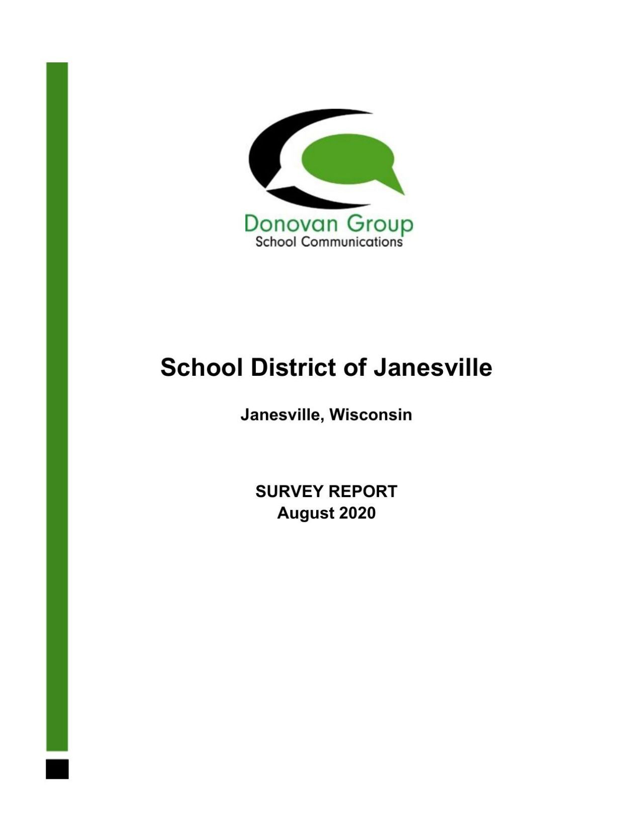 Janesville School District survey