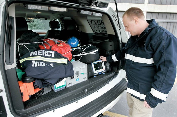 New vehicle allows Mercy doctors to respond to 911 calls