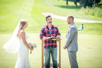 A Busch-ing bride: Janesville couple wins beer company's