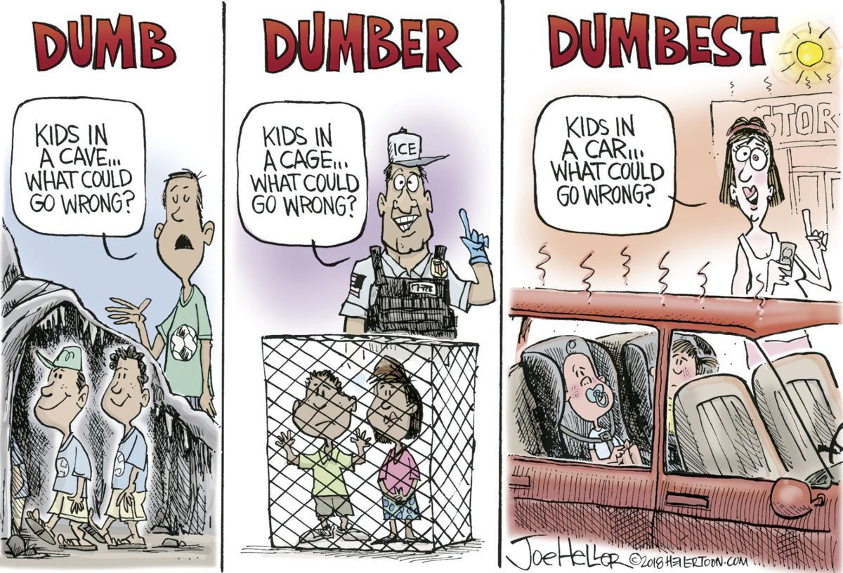 Dumb, dumber, dumbest | Political cartoons | gazettextra com