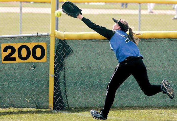 Offense carries Craig softball to split