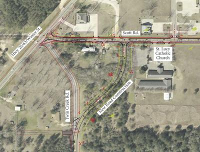 Scott Road intersection to be revamped,  widened and resurfaced