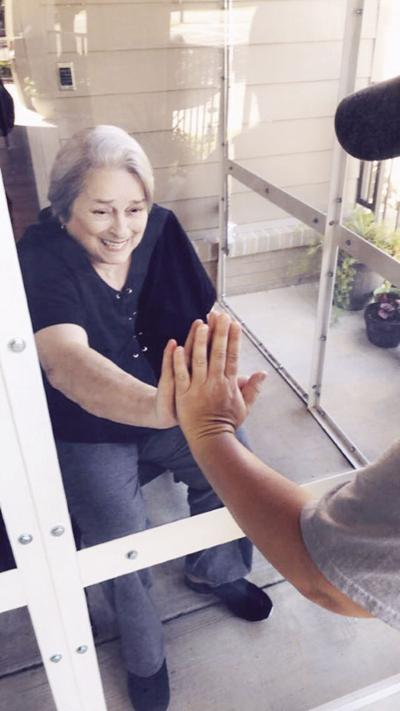 Sunroom brightens day  for residents, families