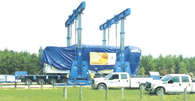 New electricity generating engines  installed at Benndale
