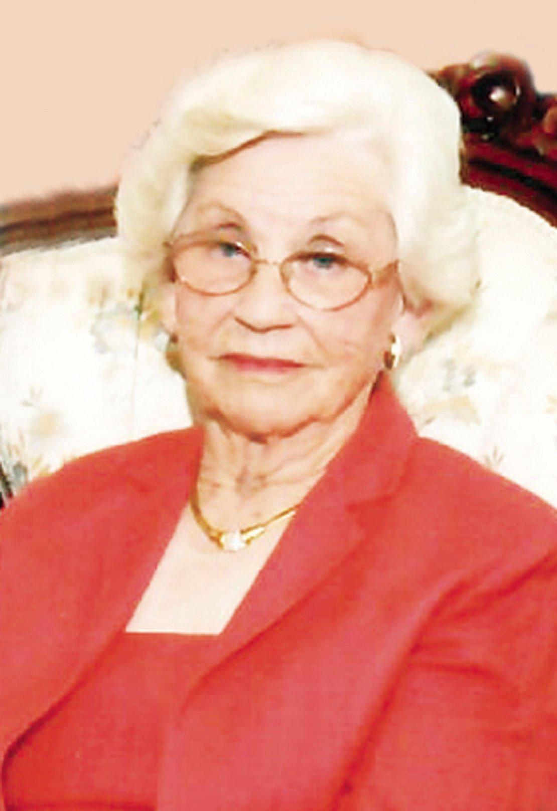 Longevity isn't a secret  for Centenarian Polly Wall