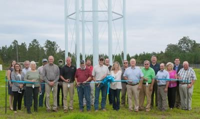 George County's largest water tank now complete