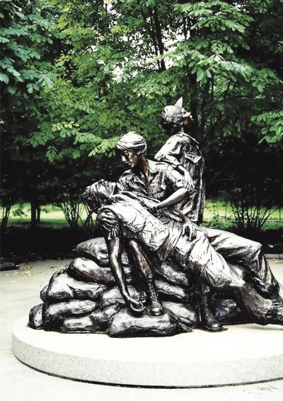 Remembering the women behind the men at war
