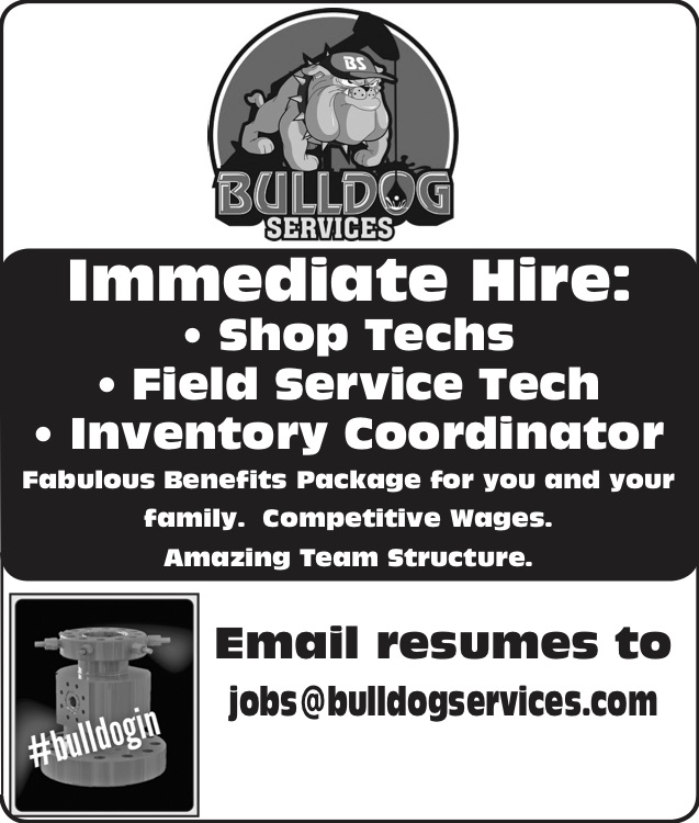 Bulldog Services Current Openings