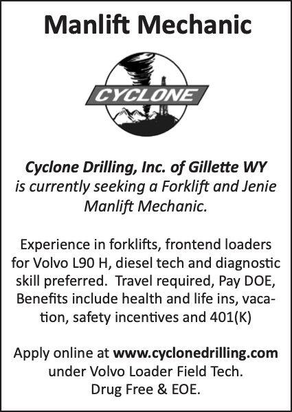 Cyclone Manlift