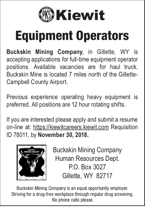 Buckskin Mining Co