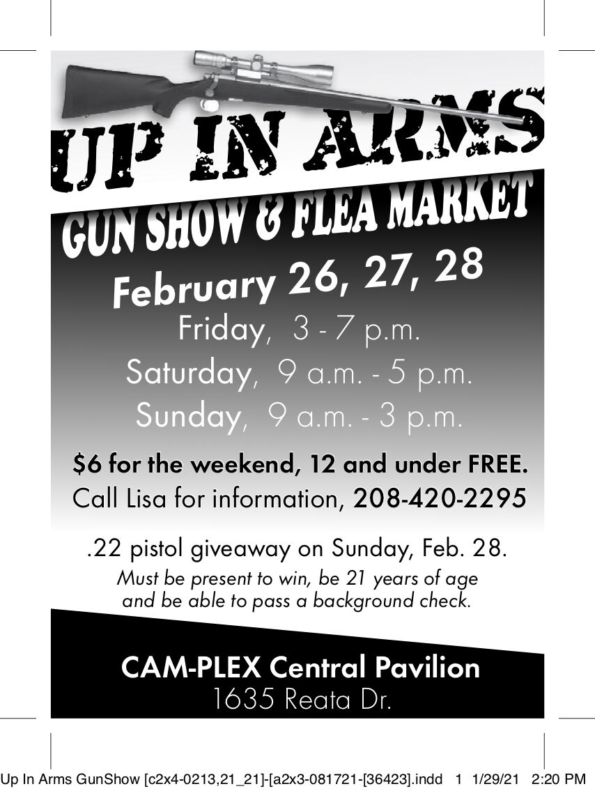 Up in Arms Gun Show