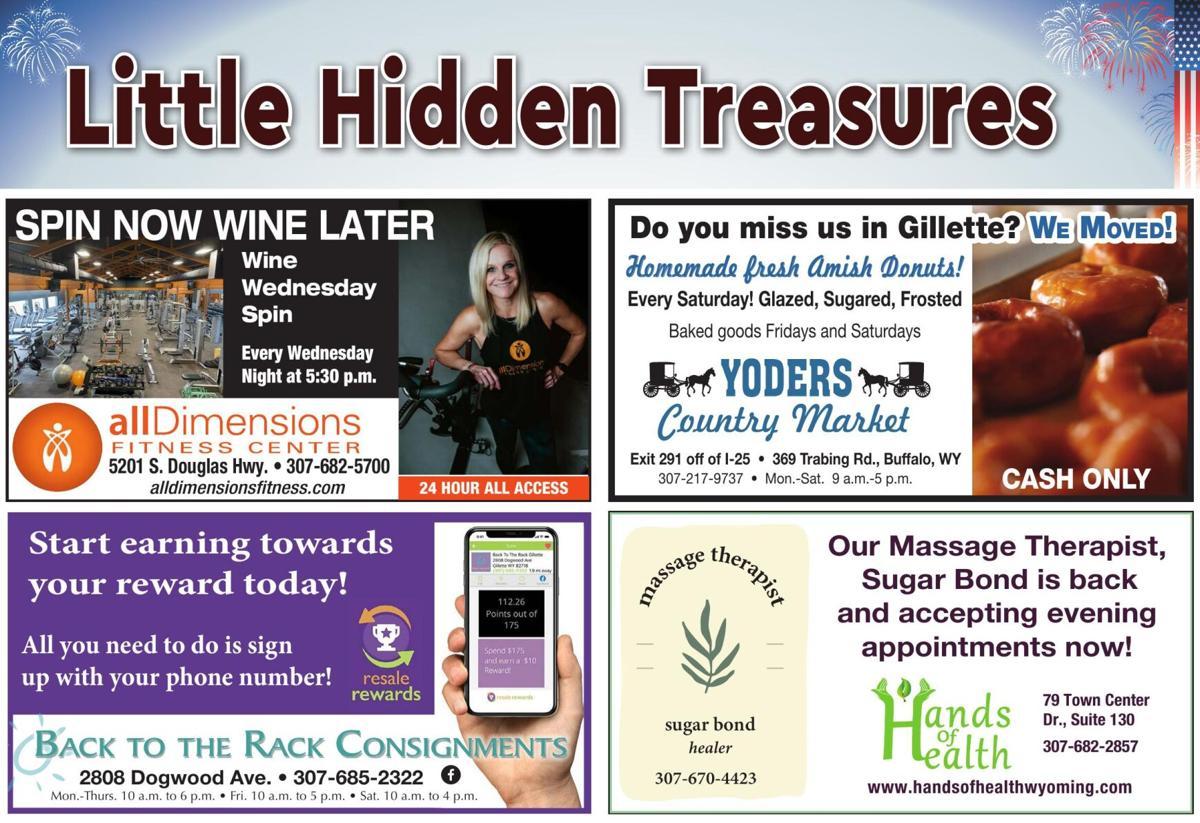 Gillette's Little Hidden Treasures
