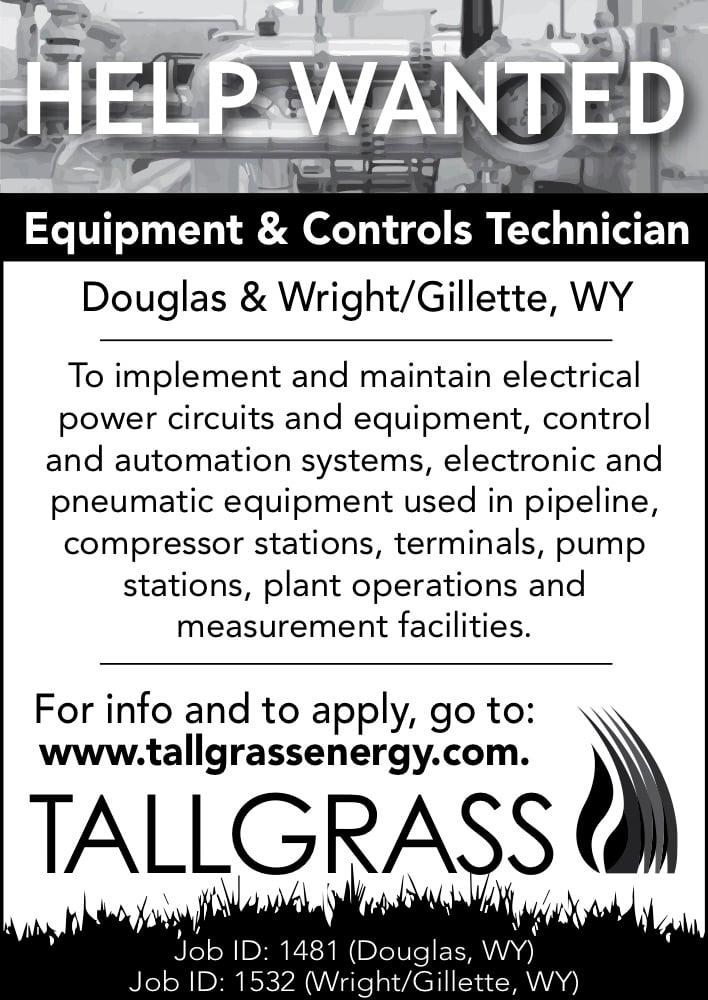 Tallgrass - Equipment & Control Technician