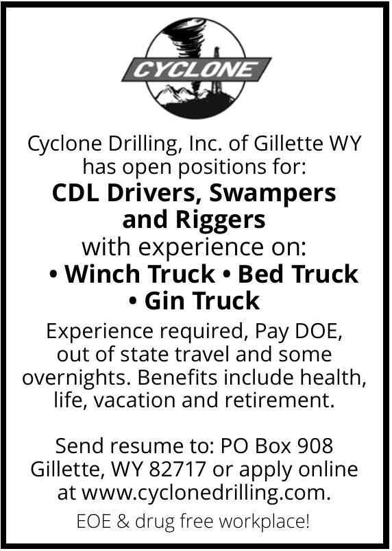 Cyclone Drilling, Inc.