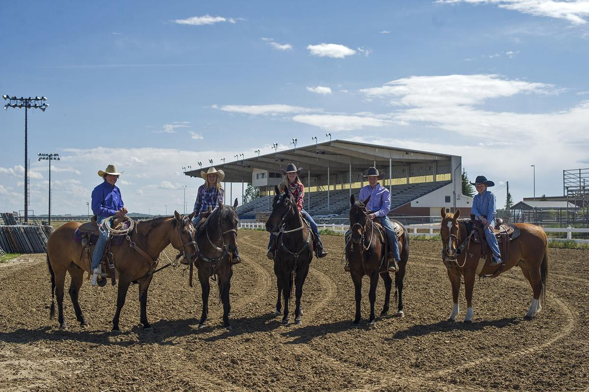 Six Kids Qualify For National Rodeo Jr High