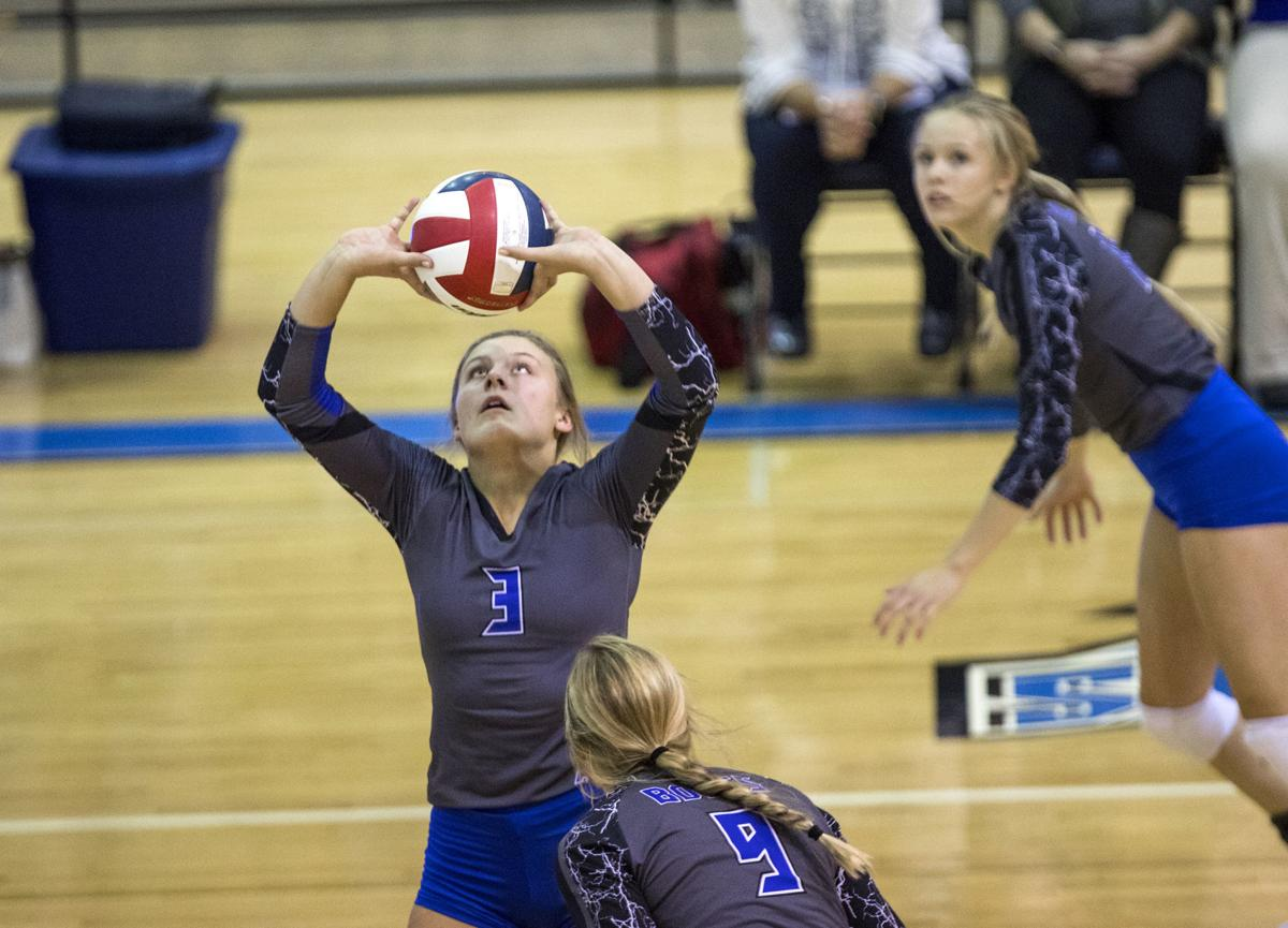 TBHS vs CCHS volleyball