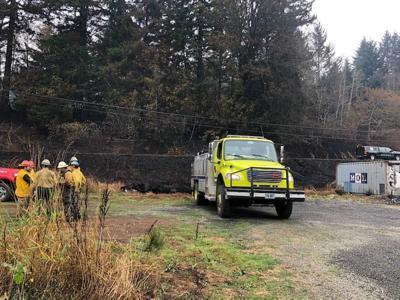Oregon fire