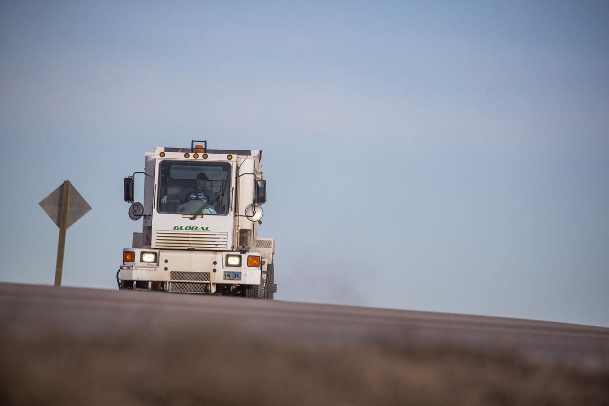 street sweeping trucks
