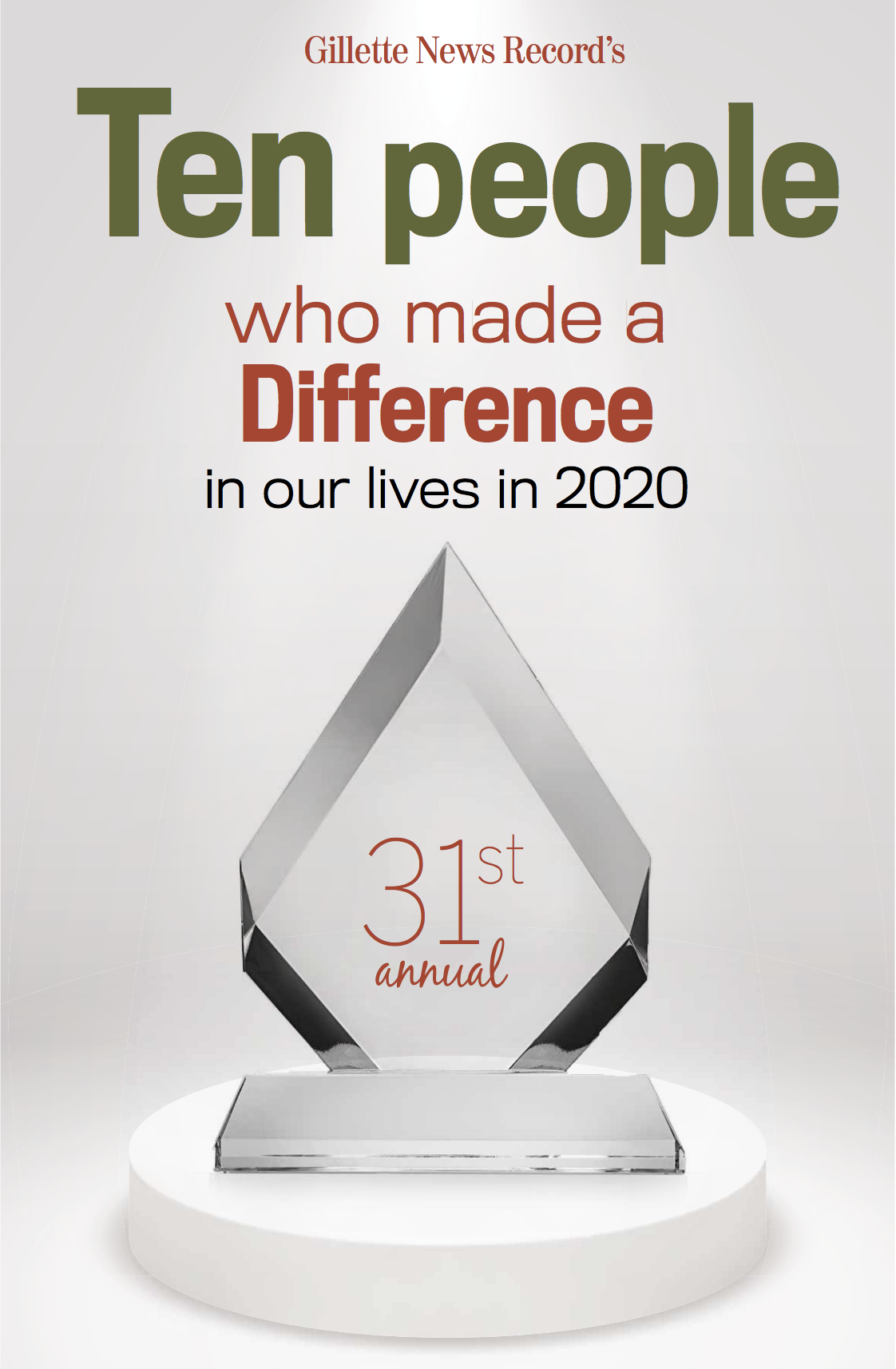 Ten Who Made A Difference: 2020