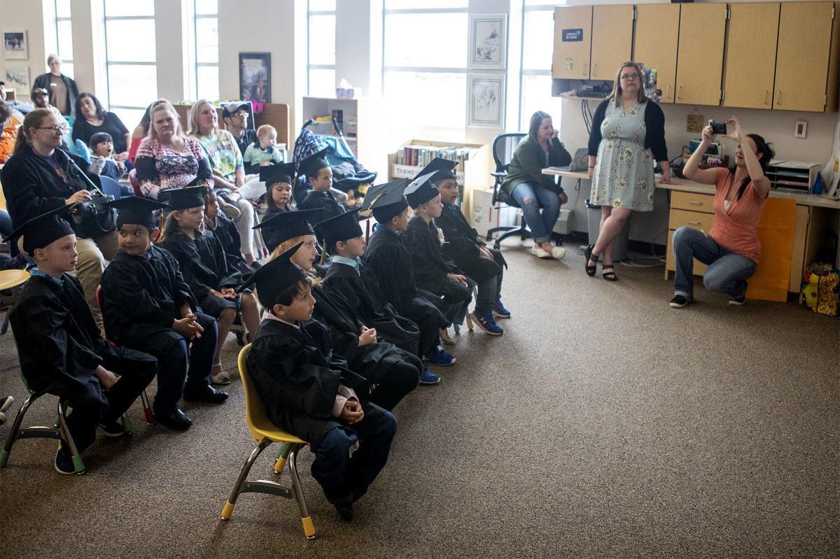 Junior kindergarten graduation