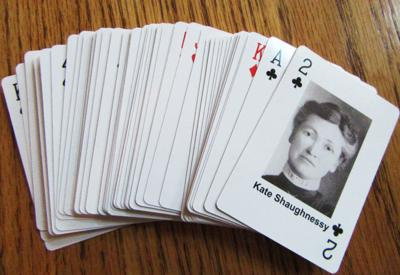 Women deck of cards
