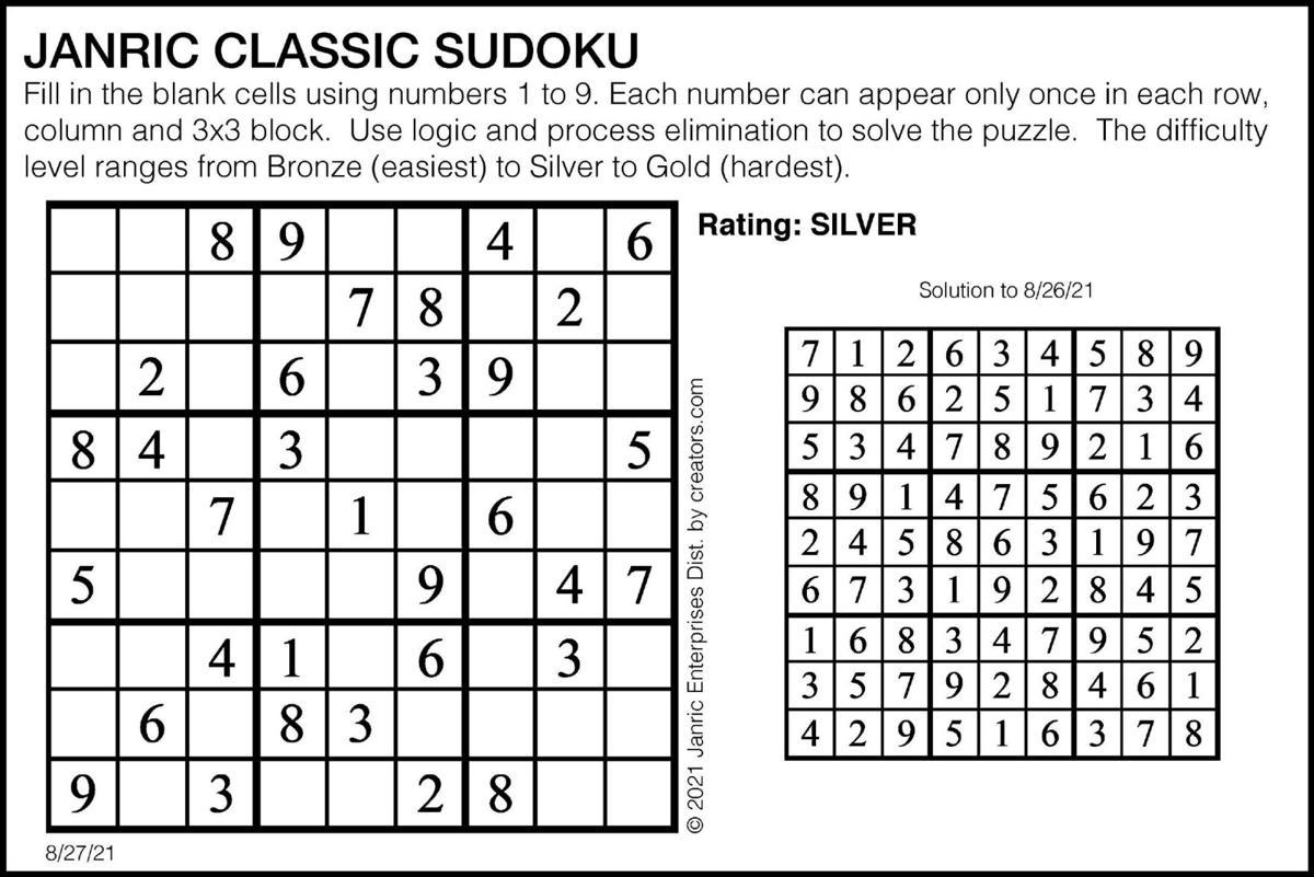 Sudoku August 27