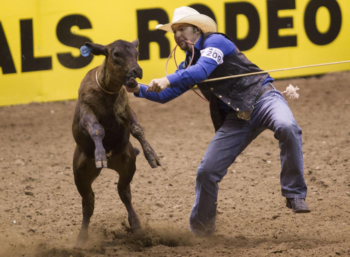 Next Step Pro Rodeo Cole Robinson Finishes Up Cnfr