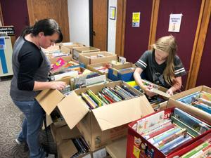 Library's annual book sale to write a new chapter in October